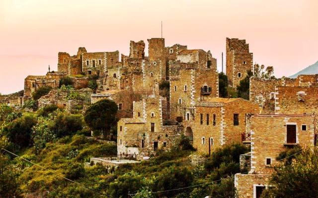 stari grad na peloponezu